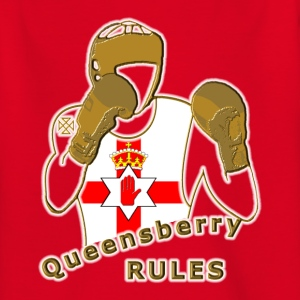 queensberry boxing northern ireland Kids' Shirts - Teenage T-shirt