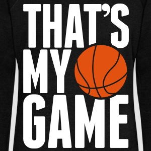 Basketball - That's my Game Sweat-shirts - Pull Femme col bateau de Bella