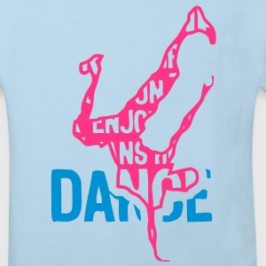 breakdance hiphop texte mots 2043 Tee shirts Enfants - T-shirt Bio Enfant