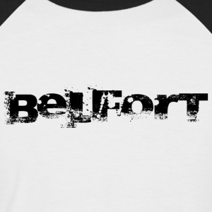 Belfort police n°1 noir Tee shirts - T-shirt baseball manches courtes Homme