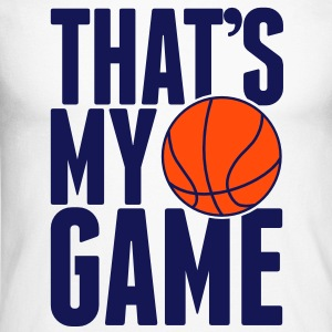 Basketball - That's my Game Tee shirts manches longues - T-shirt baseball manches longues Homme