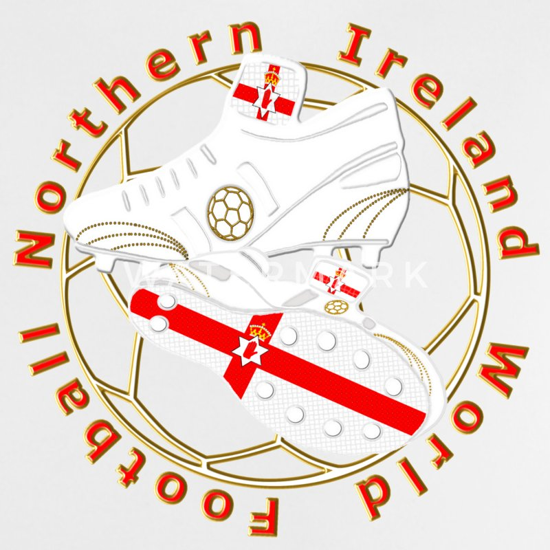 northern ireland football crest Baby Shirts  - Baby T-Shirt