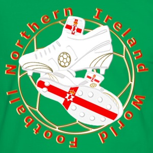 northern ireland football crest T-Shirts - Men's Ringer Shirt