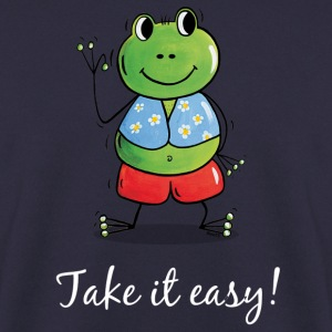 Frosch-Take it easy! 2 Pullover - Männer Pullover