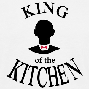 king of the kitchen - Männer T-Shirt