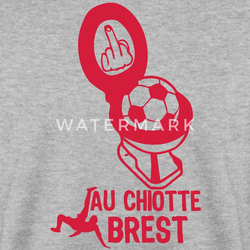 chiotte brest football non supporter Sweat-shirts - Sweat-shirt Homme