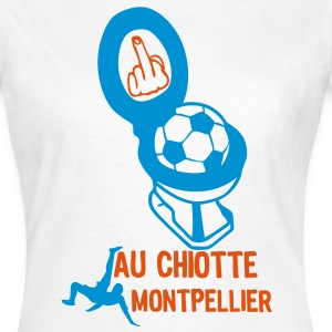 chiotte montpellier football non suppor Tee shirts - T-shirt Femme
