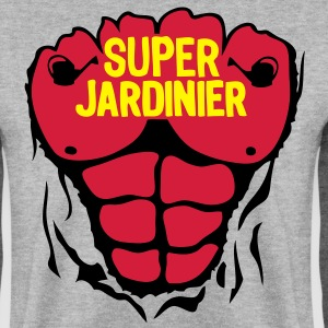 jardinier super corps muscle bodybuildin Sweat-shirts - Sweat-shirt Homme