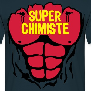 chimiste super corps muscle bodybuilding Tee shirts - T-shirt Homme