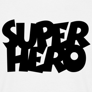 SUPERHERO T-shirts - Herre-T-shirt