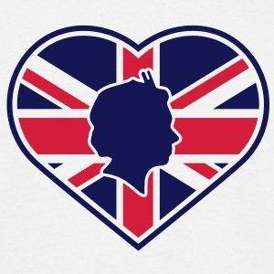 Love Queen Diamond Jubilee © 2c T-Shirts - T-shirt herr