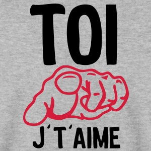 toi doigt aime Sweat-shirts - Sweat-shirt Homme