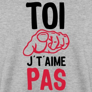 toi doigt aime pas Sweat-shirts - Sweat-shirt Homme