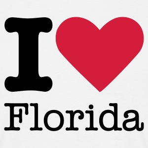 I Love Flordia T-shirts - Mannen T-shirt