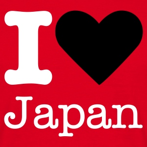 I Love Japan T-shirts - T-shirt herr