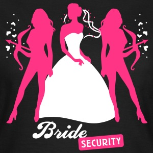 Bride - security - hen night - team T-Shirts - Women's T-Shirt