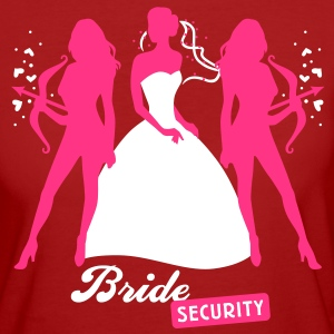 Bride - security - hen night - team T-Shirts - Women's Organic T-shirt