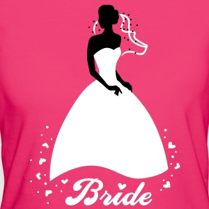 Bride - groom - wedding - marriage T-Shirts - Women's Organic T-shirt