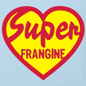 super frangine soeur coeur love heart Tee shirts Enfants - T-shirt Bio Enfant