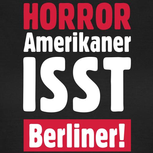 HORROR Amerikaner isst Berliner!