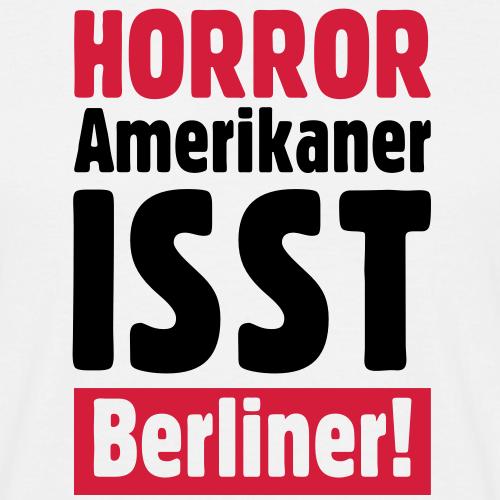 HORROR: Amerikaner isst Berliner!