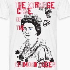 T-shirt diamond queen