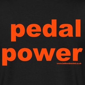 Pedal Power T Shirt - Cycling - - Men's T-Shirt