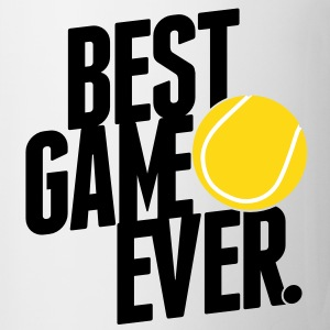 tennis - best game ever Tassen - Tasse