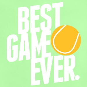 tennis - best game ever Tee shirts Bébés - T-shirt Bébé