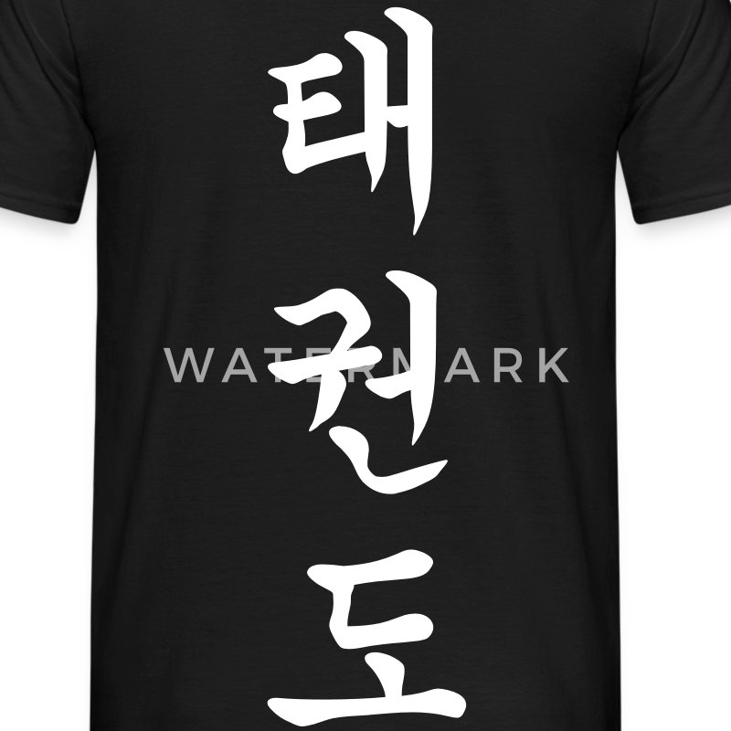 Taekwondo - Tae Kwon Do - Taekwon-Do - 태권도 (vertikal) - Men's T-Shirt