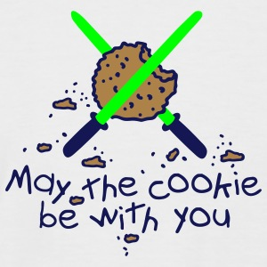 May the cookie be with you T-Shirts - Männer Baseball-T-Shirt