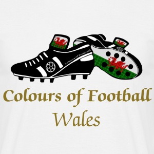 Wales red dragon football gents classic t-Shirt - Men's T-Shirt