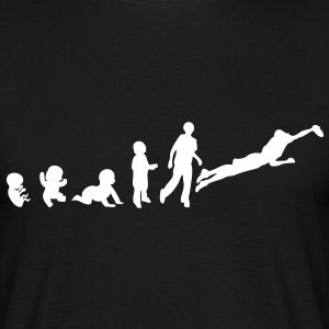 evolution ultimate2 foetus human humain Tee shirts - T-shirt Homme