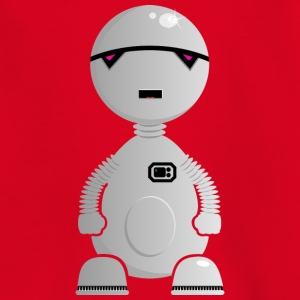 depressed robot / trauriger Android (DDP) Kids' Shirts - Kids' T-Shirt