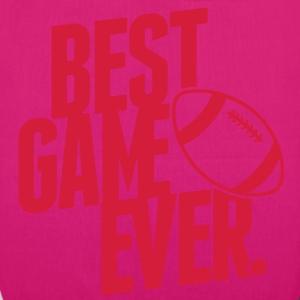 rugby - best game ever Bags  - EarthPositive Tote Bag