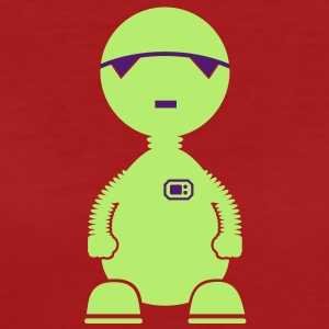 ET-Roboter / depressed bot (2c) T-Shirts - Frauen Bio-T-Shirt