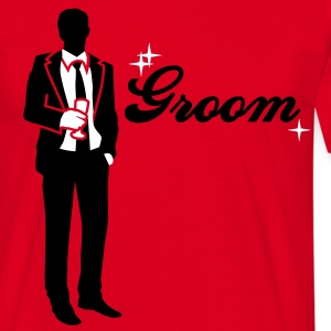 Groom - Team - Bride T-Shirts - Men's T-Shirt