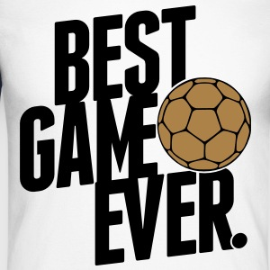 handball - best game ever Tee shirts manches longues - T-shirt baseball manches longues Homme