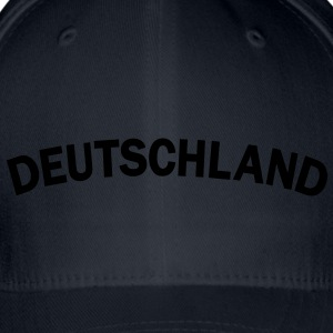 Deutschland, Germany, Flag, Flagge, Sports, Fußball, football, soccer, Fahnen, Länder, countries, www.eushirt.com Caps & Mützen - Flexfit Baseballkappe