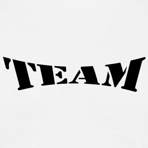 team T-shirts - Herre-T-shirt