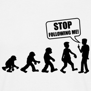stop_following_me T-shirt - Maglietta da uomo