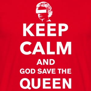 Keep Calm and God Save the Queen - Men's T-Shirt