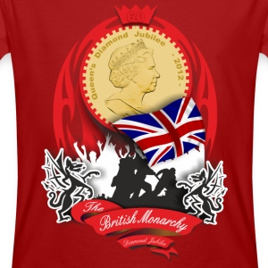 british monarchy - diamond jubilee T-Shirts - Men's Organic T-shirt