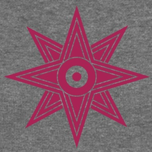 Star Of Ishtar - Venus Star, vector 03, Symbol of the great Babylonian Goddess of love Ishtar (Inanna)  Bluzy - Bluza damska Bella z dekoltem w łódkę