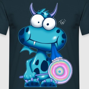 Monsta blue - Männer T-Shirt