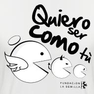 Diseño ~ Come come camiseta hombre