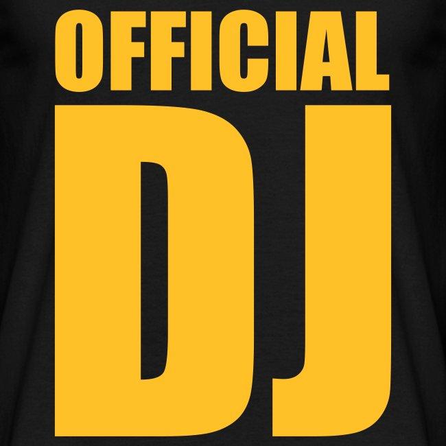 Camiseta hombre DJ