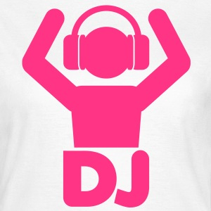DJ Hands Up T-Shirts - Frauen T-Shirt