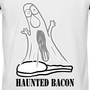 HAUNTED BACON T-Shirts - Men's Baseball T-Shirt