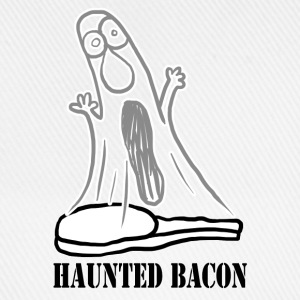 HAUNTED BACON Caps & Hats - Baseball Cap